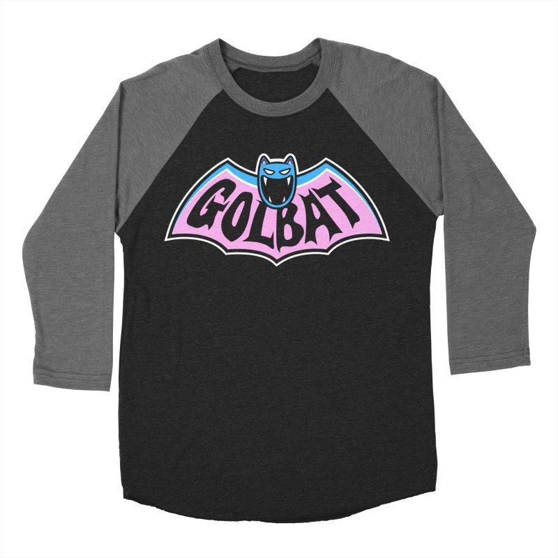 Focus Your Inner Bat Men's Baseball Triblend T-Shirt by Fanboy30's Artist Shop