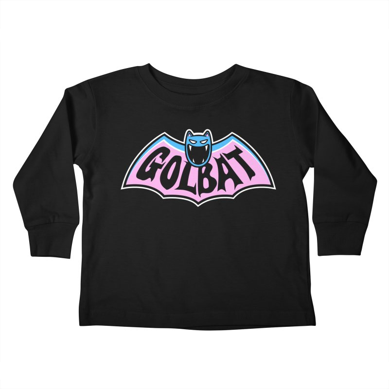 Focus Your Inner Bat Kids Toddler Longsleeve T-Shirt by Fanboy30's Artist Shop