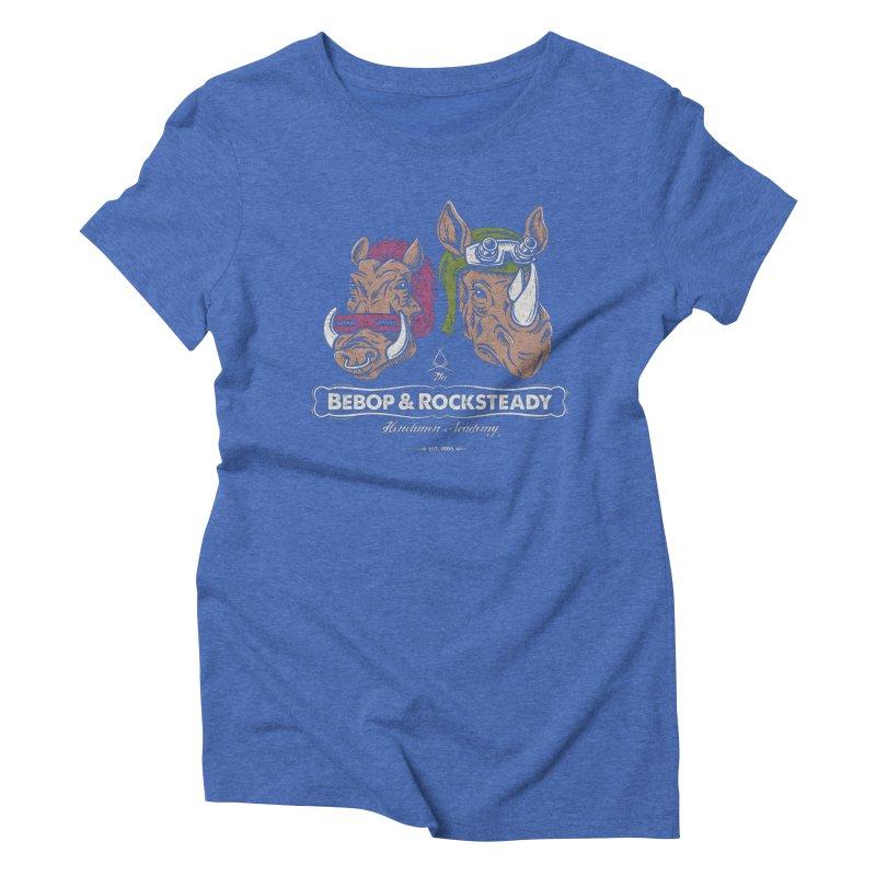 The Henchmen Academy  Women's Triblend T-shirt by Fanboy30's Artist Shop