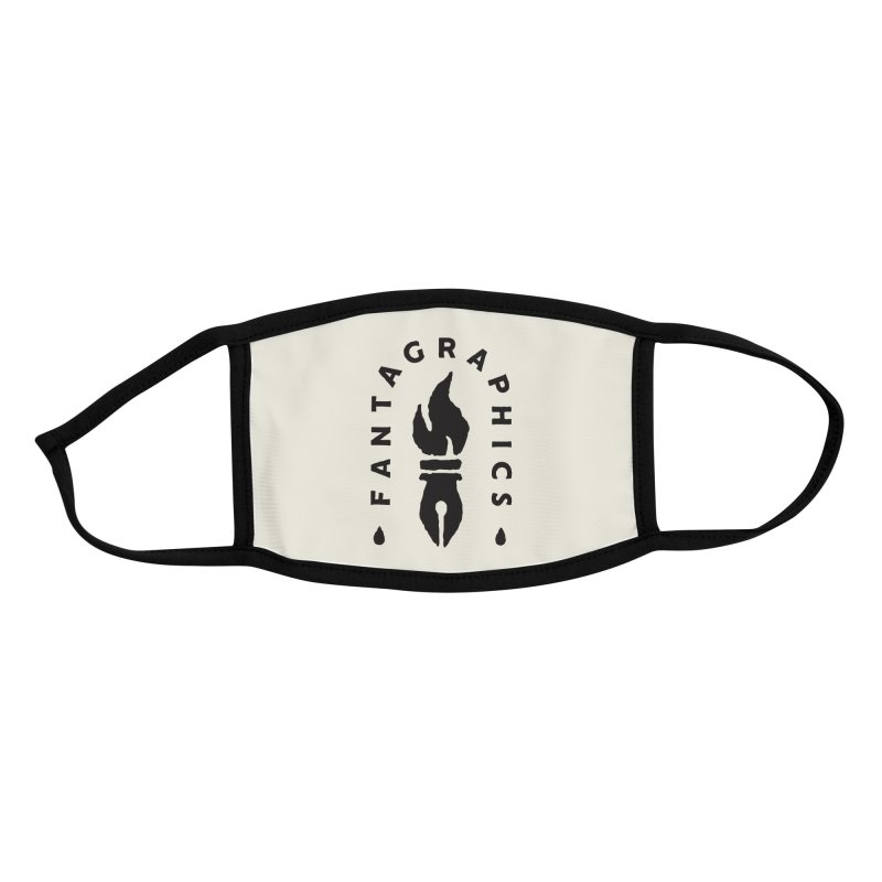 Fantagraphics Legacy Torch Logo (Sketchy) Accessories Face Mask by Fantagraphics