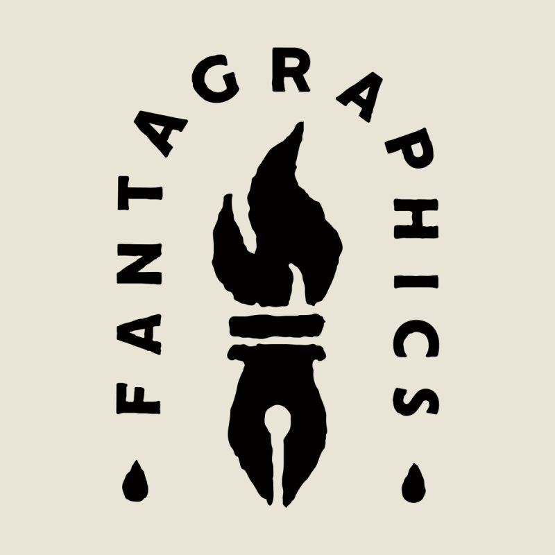 Fantagraphics Legacy Torch Logo (Sketchy) Men's T-Shirt by Fantagraphics