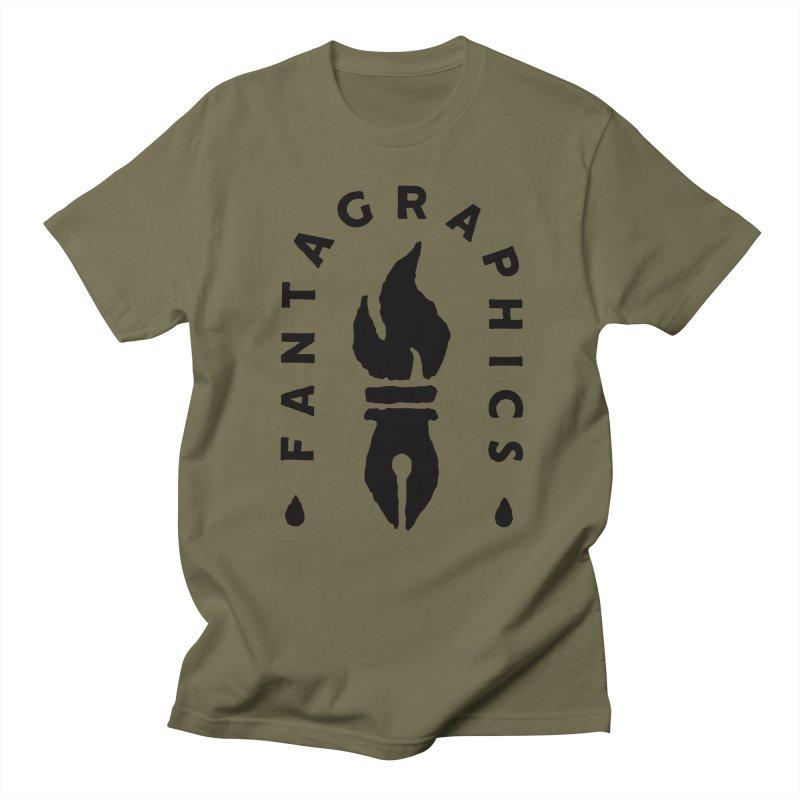 Fantagraphics Legacy Torch Logo (Sketchy) Men's T-Shirt by Fantagraphics