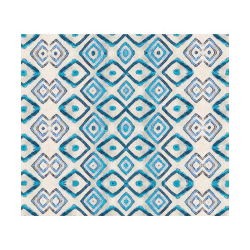 Blue Cuadri Home Fine Art Print by Ash Whitt Studio