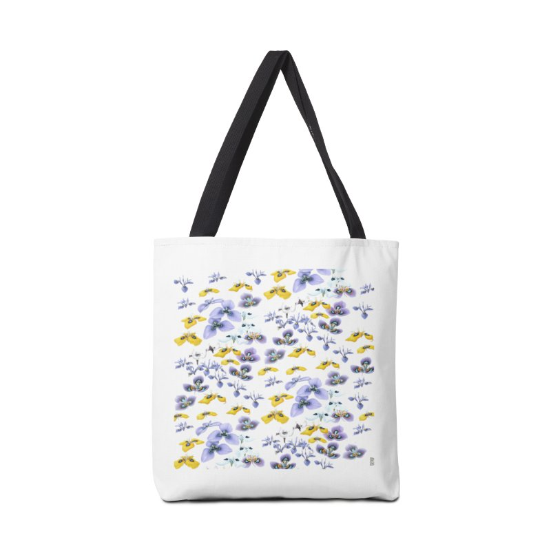 Moraea Flower Accessories Tote Bag Bag by FashionedbyNature's Artist Shop