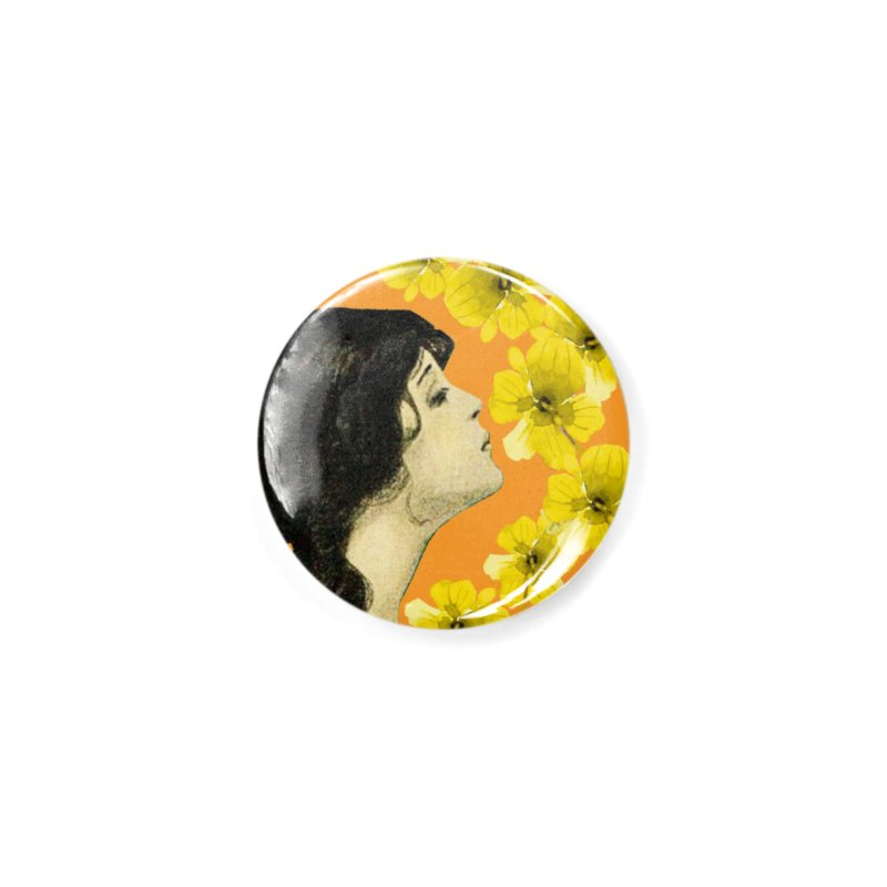 Monet Flower Lady Accessories Button by All Fashioned by Nature Artist Shop