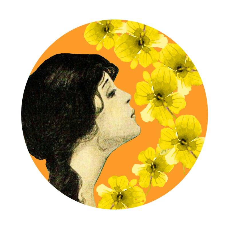 Monet Flower Lady Accessories Sticker by FashionedbyNature's Artist Shop