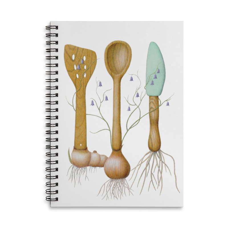 Everything Blooms Accessories Notebook by All Fashioned by Nature Artist Shop