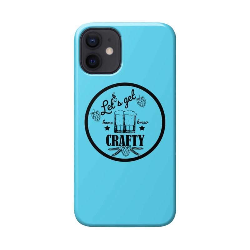 Let's Get Crafty Craft Beer Accessories Phone Case by All Fashioned by Nature Artist Shop