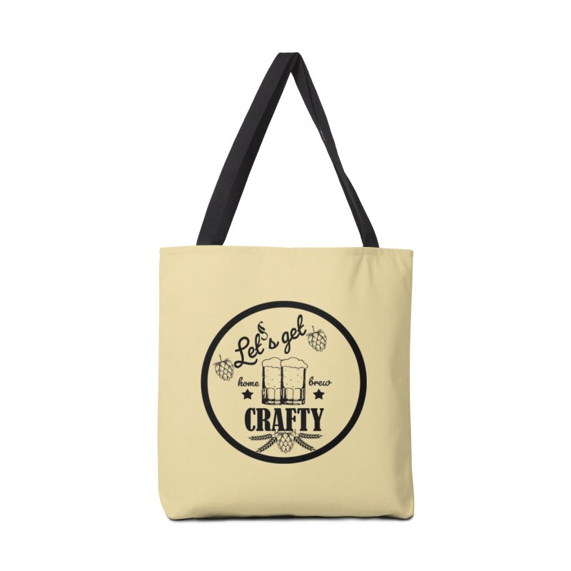 Let's Get Crafty Craft Beer Accessories Bag by All Fashioned by Nature Artist Shop