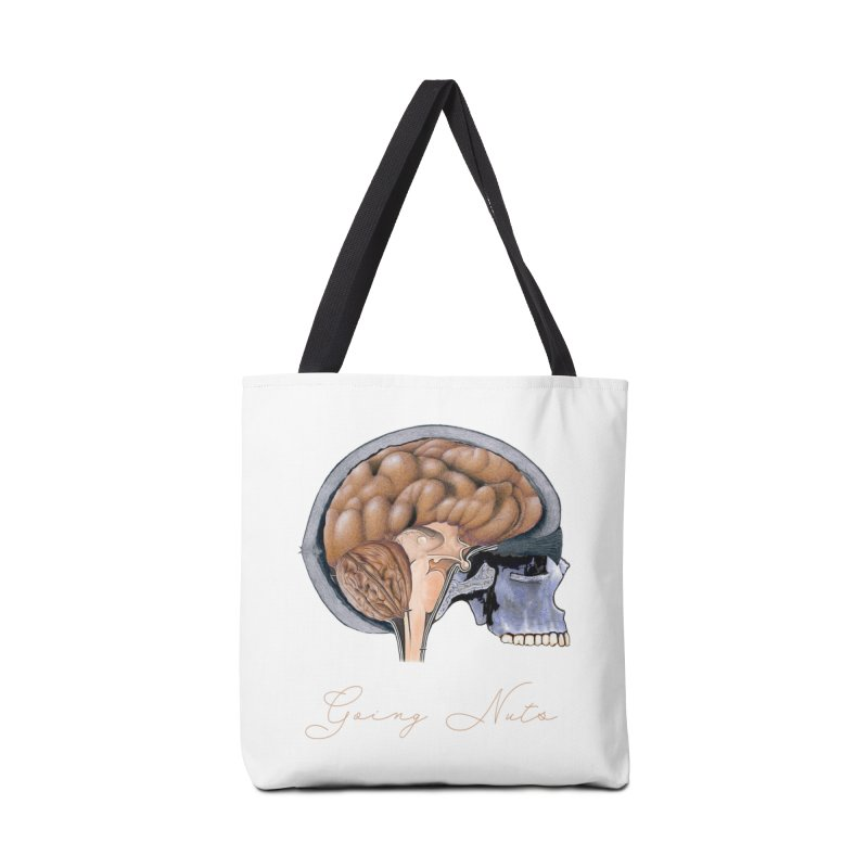 Going Nuts Accessories Bag by All Fashioned by Nature Artist Shop