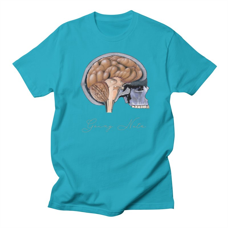 Going Nuts Men's T-Shirt by All Fashioned by Nature Artist Shop