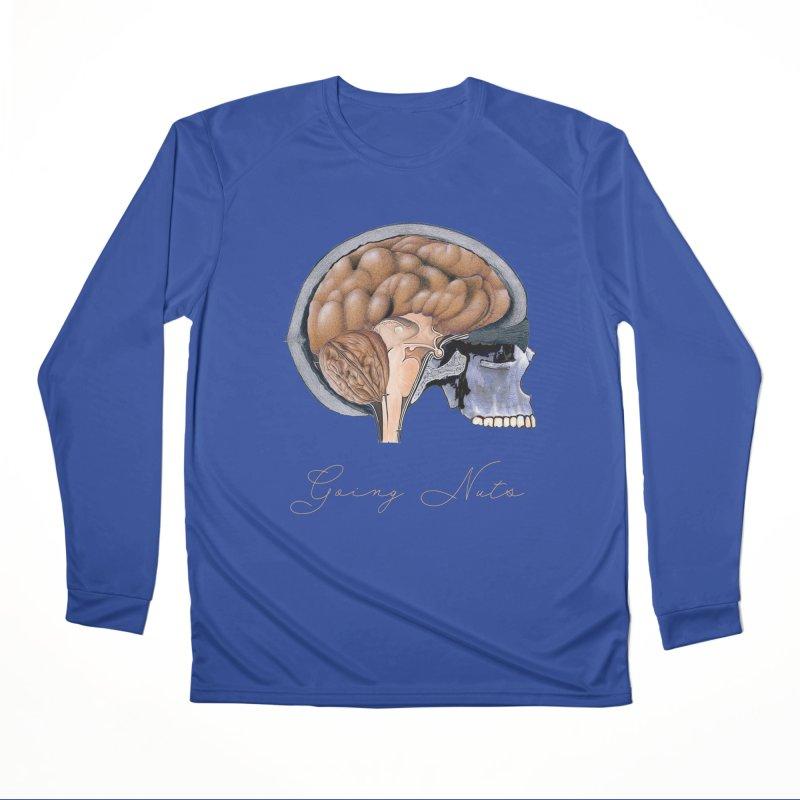Going Nuts Women's Performance Unisex Longsleeve T-Shirt by FashionedbyNature's Artist Shop