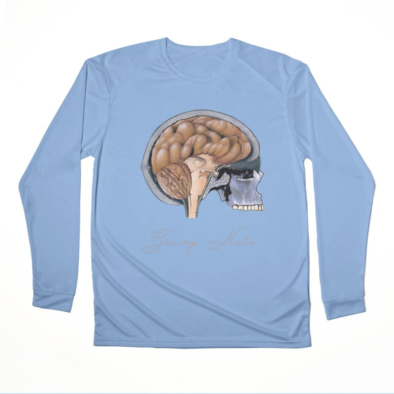 Going Nuts Women's Longsleeve T-Shirt by All Fashioned by Nature Artist Shop
