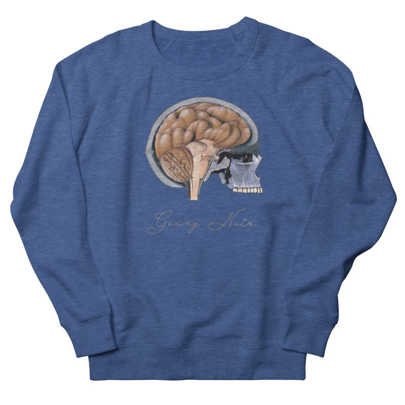 Going Nuts Men's Sweatshirt by All Fashioned by Nature Artist Shop