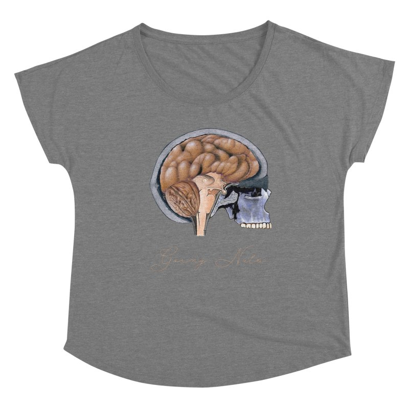 Going Nuts Women's Scoop Neck by All Fashioned by Nature Artist Shop