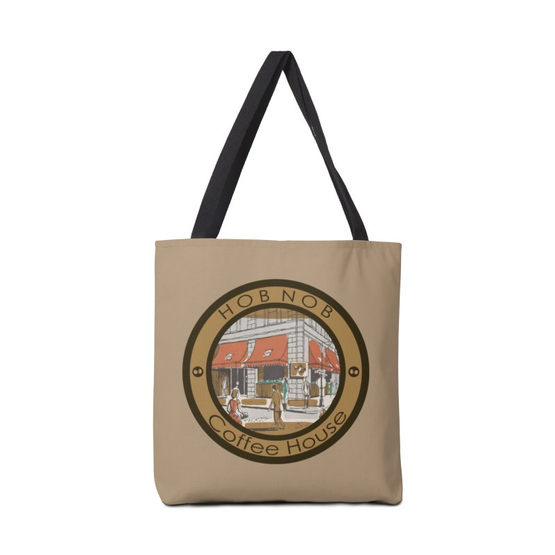 Hob Nob Coffee House Accessories Bag by All Fashioned by Nature Artist Shop