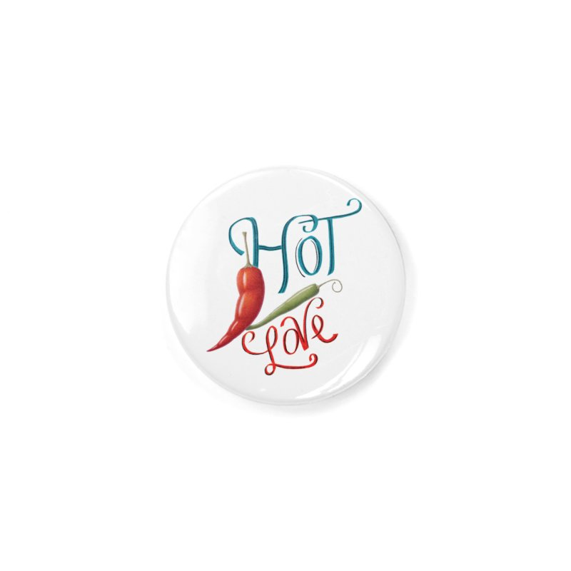 Hot Love Accessories Button by FashionedbyNature's Artist Shop