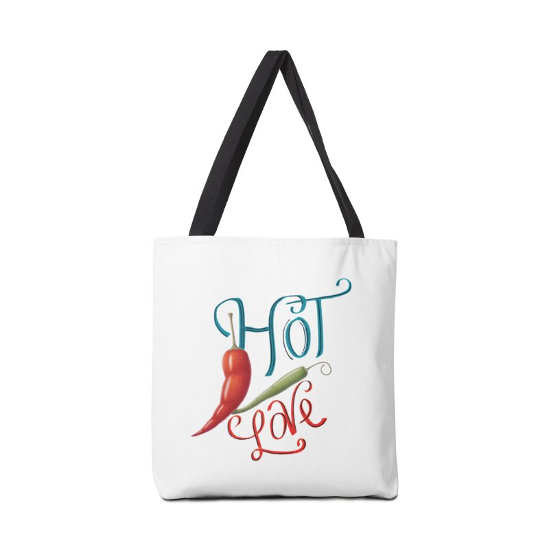 Hot Love Accessories Bag by All Fashioned by Nature Artist Shop