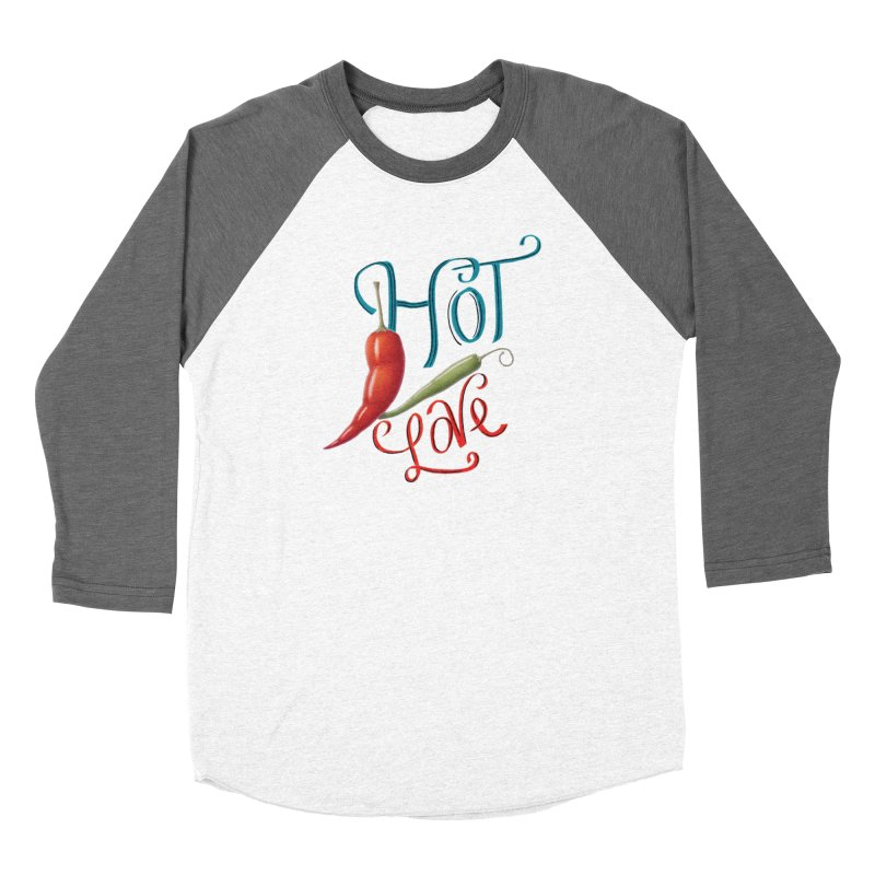 Hot Love Women's Longsleeve T-Shirt by All Fashioned by Nature Artist Shop