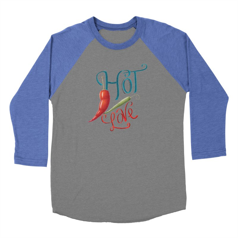 Hot Love Men's Longsleeve T-Shirt by All Fashioned by Nature Artist Shop