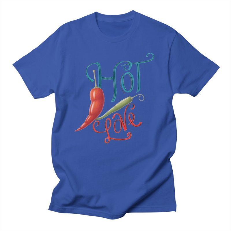 Hot Love Men's T-Shirt by All Fashioned by Nature Artist Shop