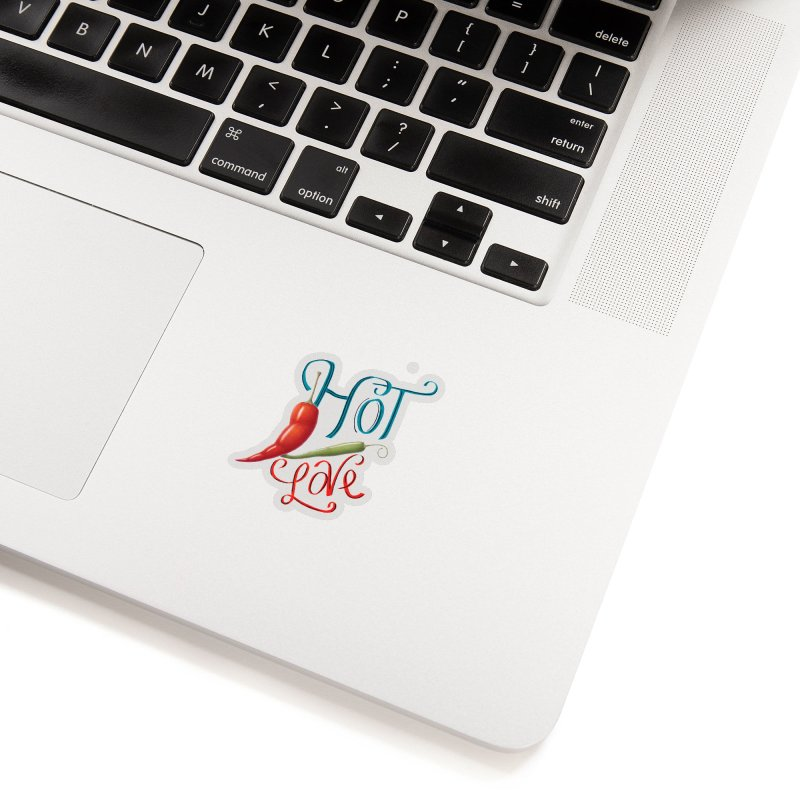 Hot Love Accessories Sticker by All Fashioned by Nature Artist Shop