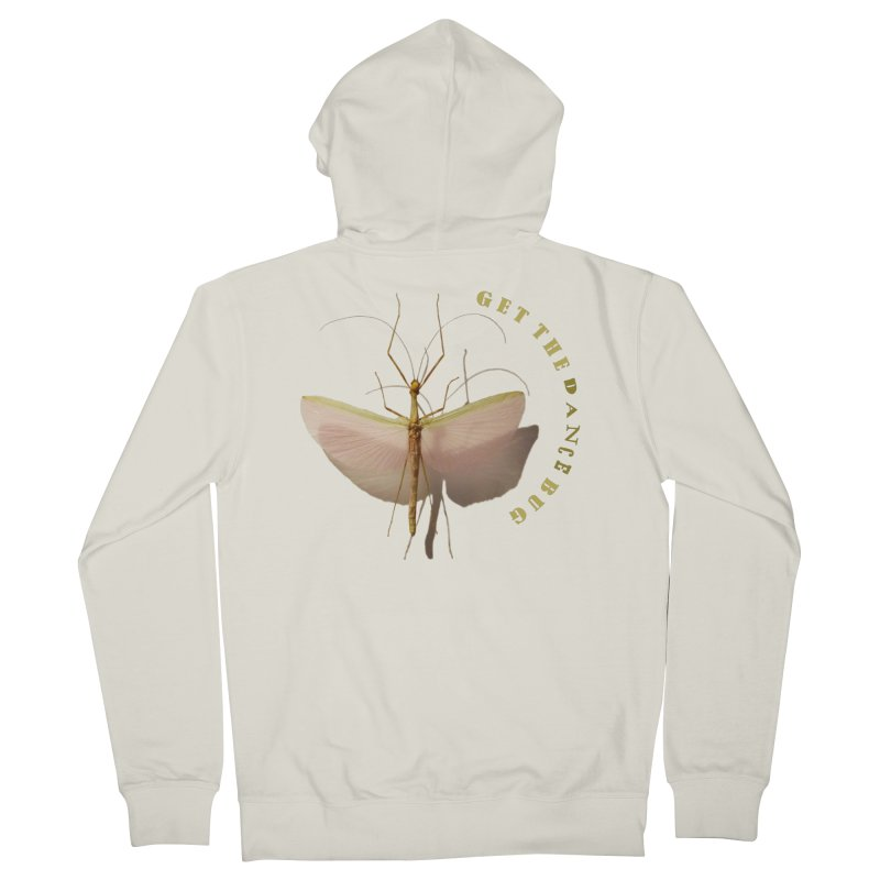 Dance Bug Women's Zip-Up Hoody by All Fashioned by Nature Artist Shop