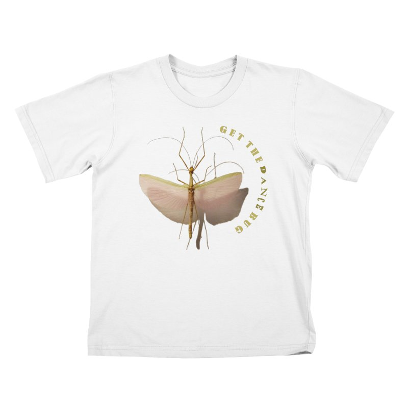 Dance Bug Kids T-Shirt by All Fashioned by Nature Artist Shop