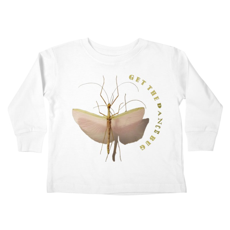 Dance Bug Kids Toddler Longsleeve T-Shirt by All Fashioned by Nature Artist Shop
