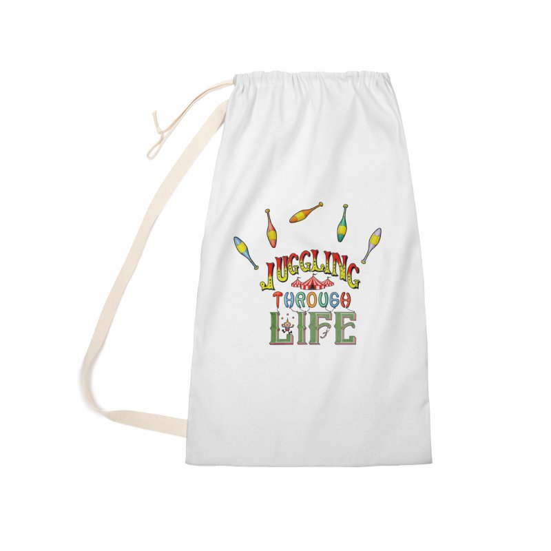 Juggling Through Life Accessories Bag by All Fashioned by Nature Artist Shop