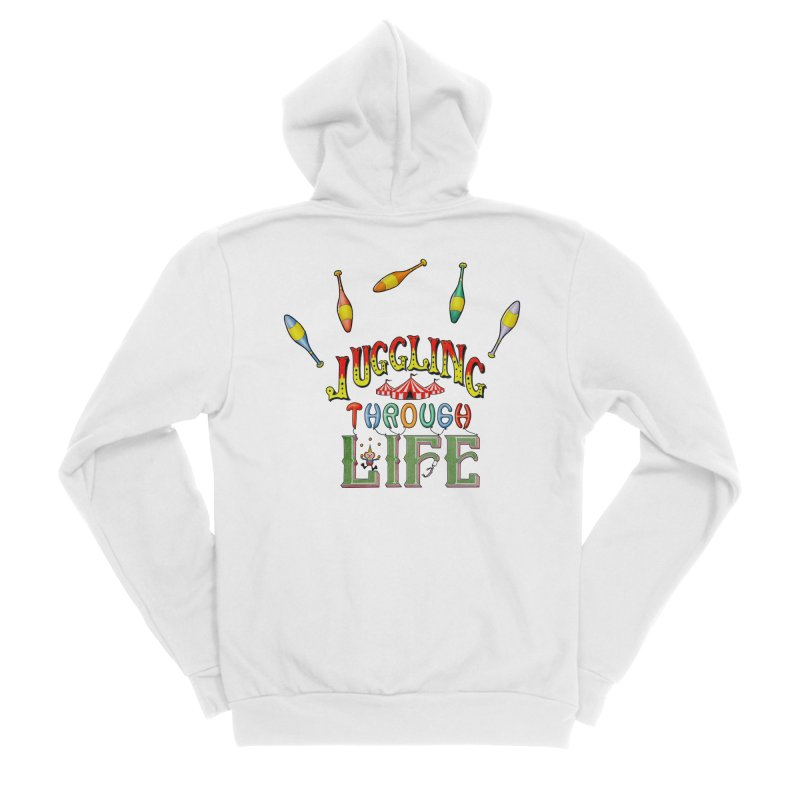 Juggling Through Life Men's Zip-Up Hoody by All Fashioned by Nature Artist Shop