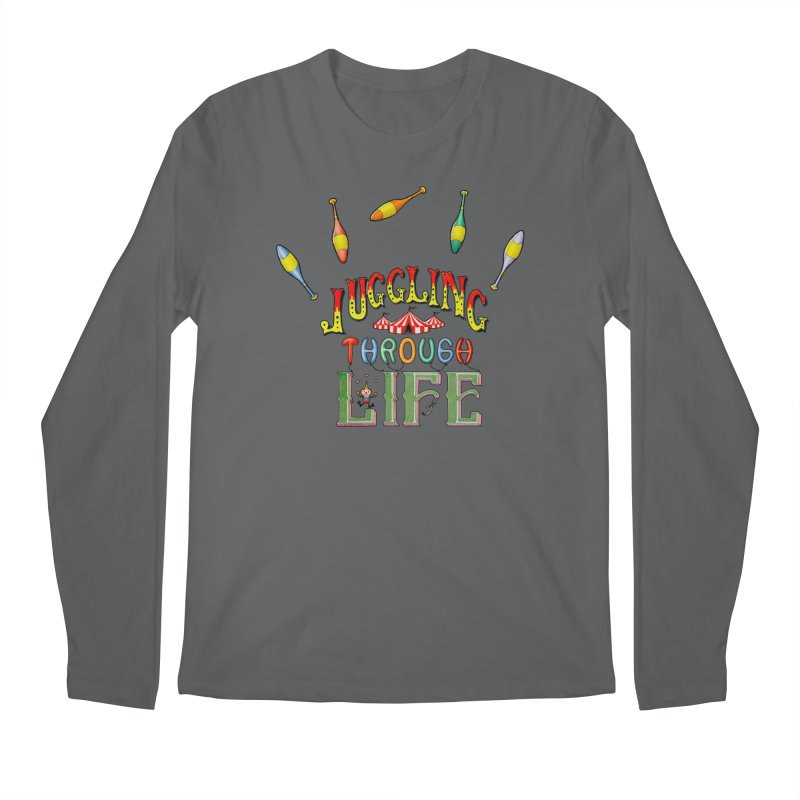 Juggling Through Life Men's Longsleeve T-Shirt by All Fashioned by Nature Artist Shop