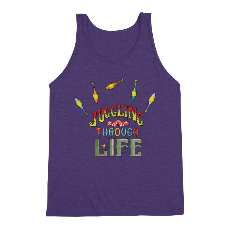 Juggling Through Life Men's Tank by All Fashioned by Nature Artist Shop