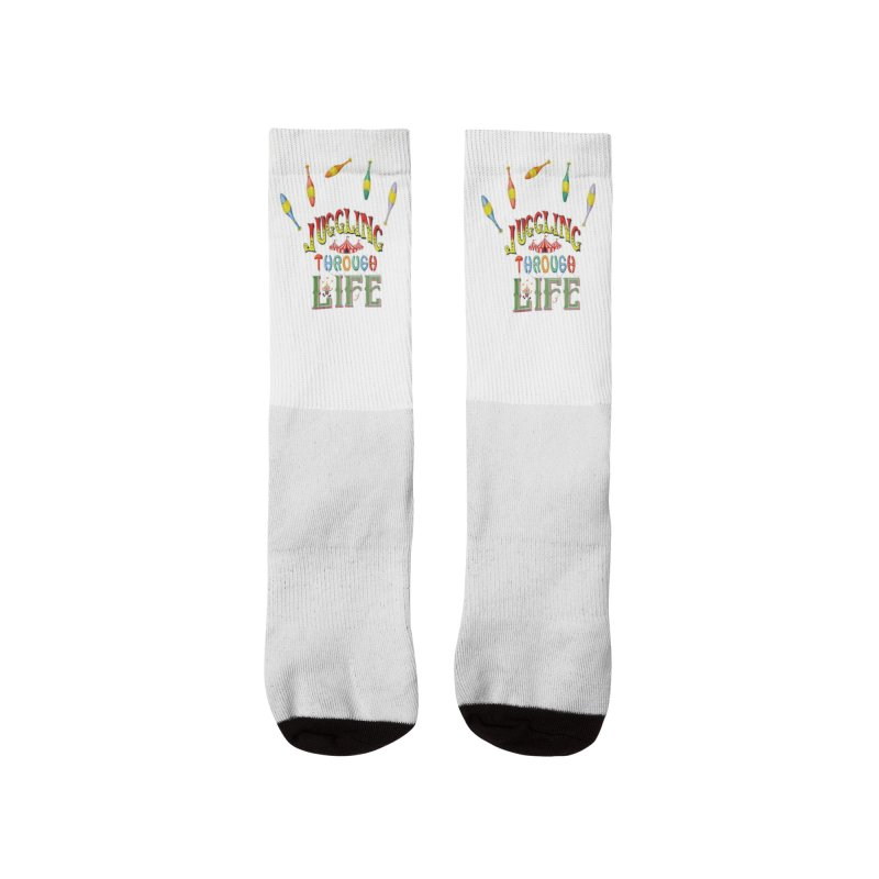Juggling Through Life Men's Socks by All Fashioned by Nature Artist Shop