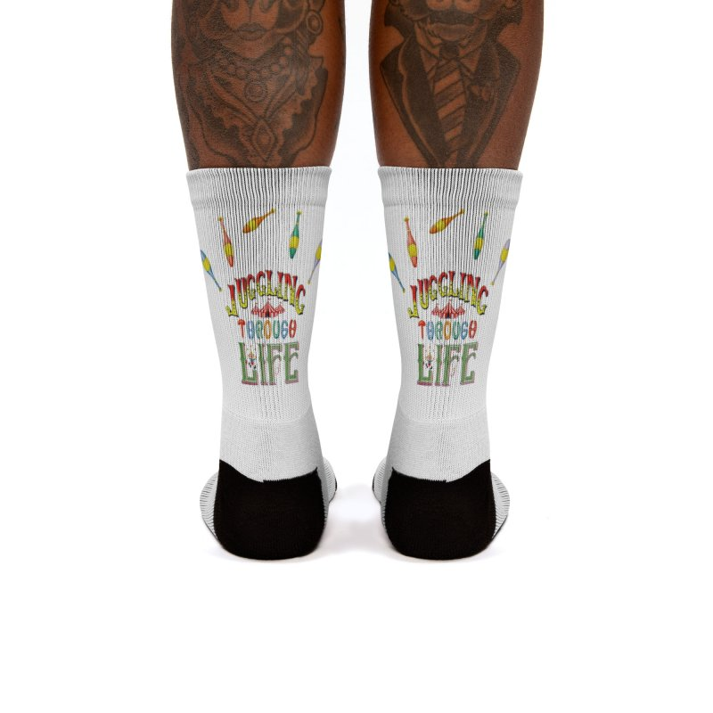 Juggling Through Life Women's Socks by All Fashioned by Nature Artist Shop
