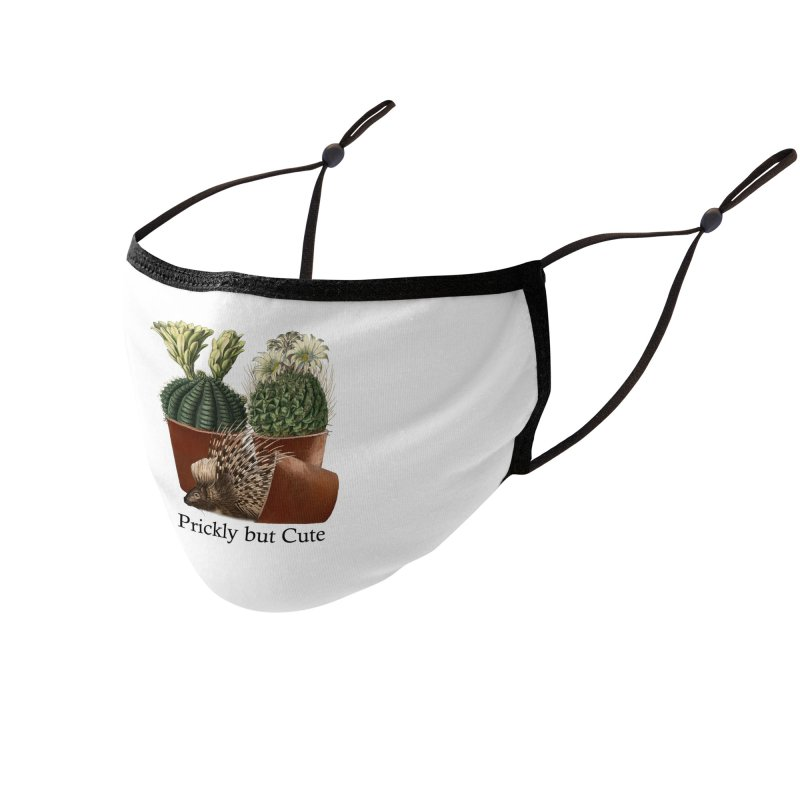 Prickly But Cute Accessories Face Mask by All Fashioned by Nature Artist Shop