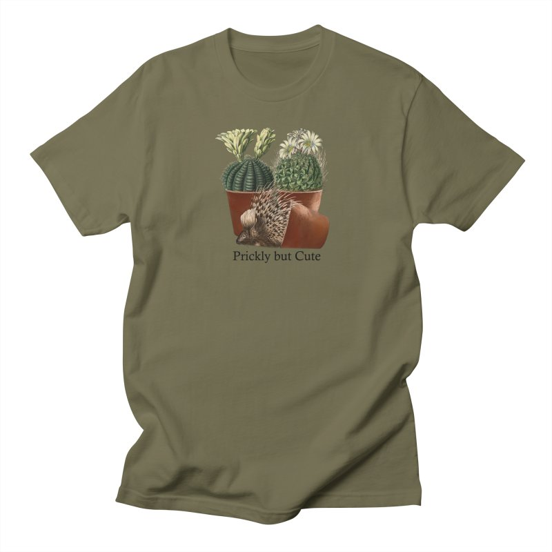 Prickly But Cute Men's T-Shirt by All Fashioned by Nature Artist Shop