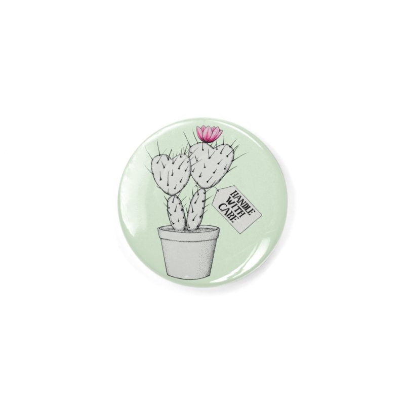 Handle With Care Accessories Button by All Fashioned by Nature Artist Shop