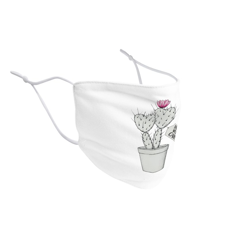 Handle With Care Accessories Face Mask by All Fashioned by Nature Artist Shop
