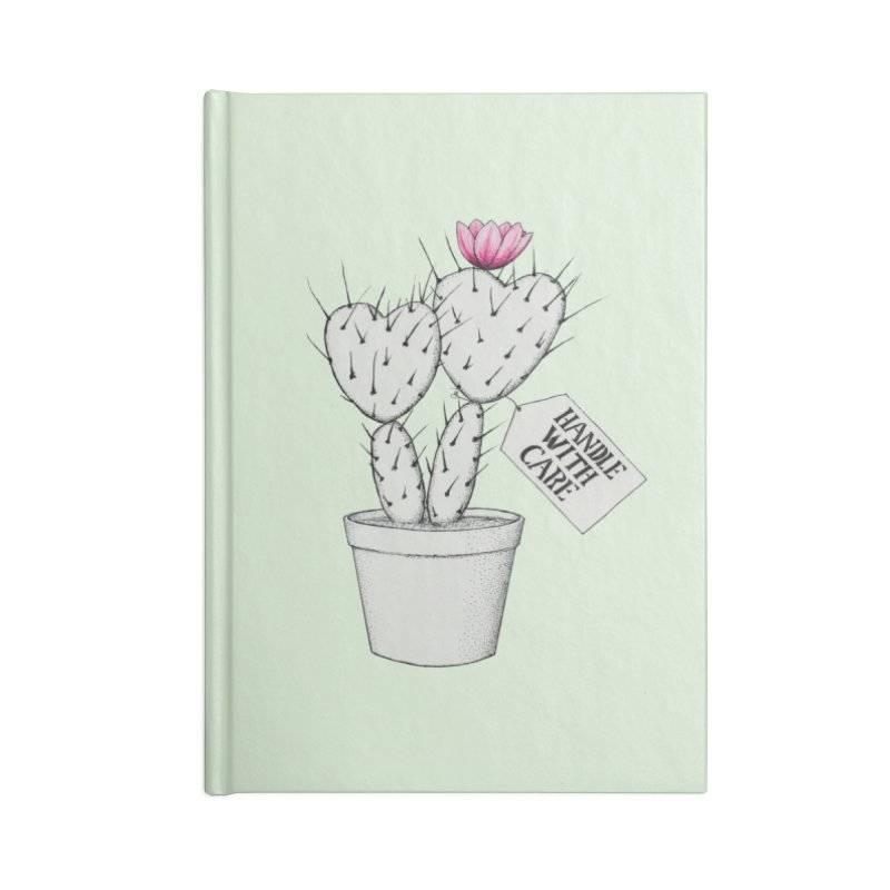 Handle With Care Accessories Notebook by All Fashioned by Nature Artist Shop