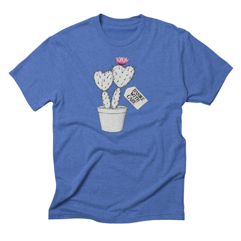 Handle With Care Men's T-Shirt by All Fashioned by Nature Artist Shop