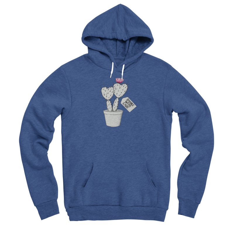 Handle With Care Men's Pullover Hoody by All Fashioned by Nature Artist Shop