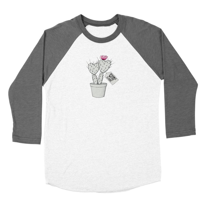 Handle With Care Women's Longsleeve T-Shirt by All Fashioned by Nature Artist Shop
