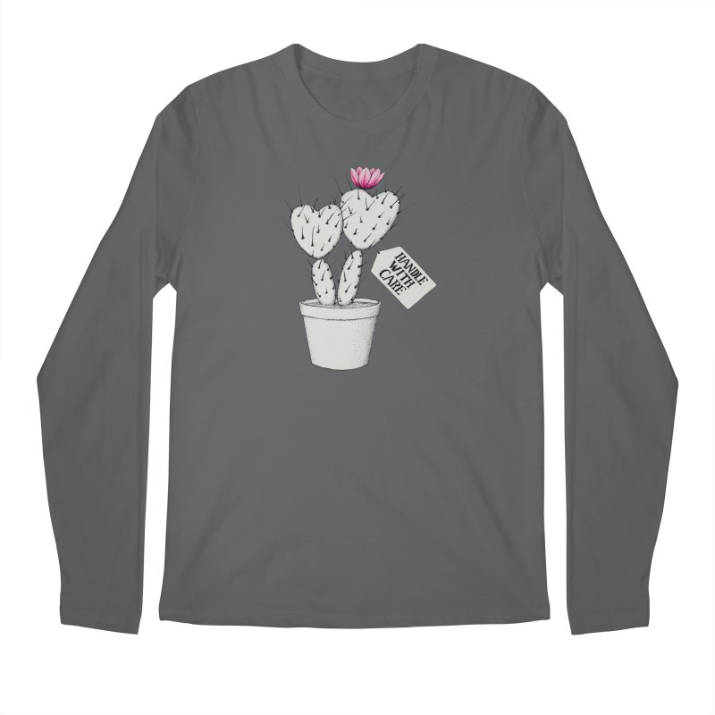 Handle With Care Men's Longsleeve T-Shirt by All Fashioned by Nature Artist Shop