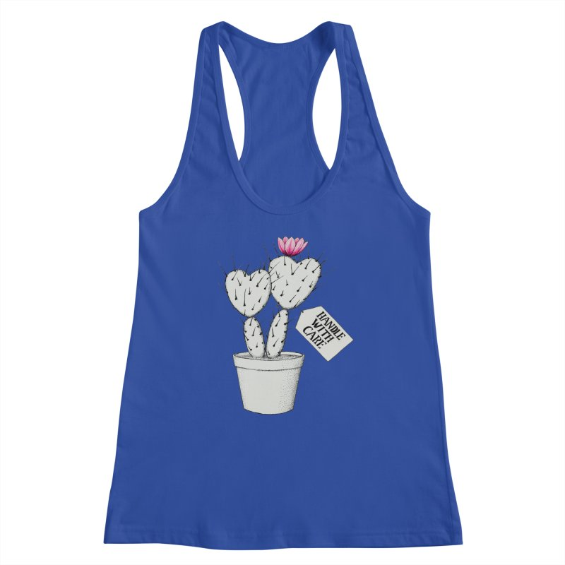 Handle With Care Women's Tank by All Fashioned by Nature Artist Shop