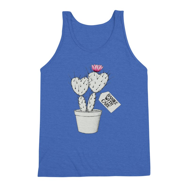 Handle With Care Men's Tank by All Fashioned by Nature Artist Shop