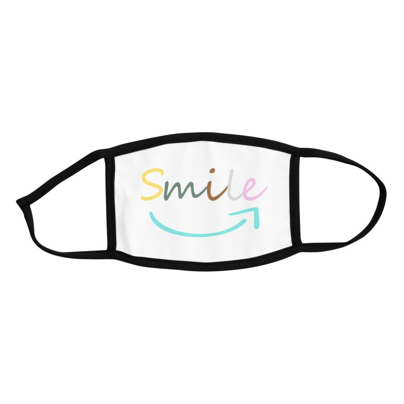Smile Accessories Face Mask by All Fashioned by Nature Artist Shop