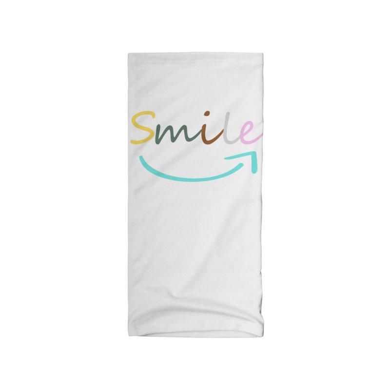 Smile Accessories Neck Gaiter by All Fashioned by Nature Artist Shop