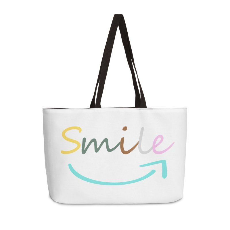 Smile Accessories Bag by All Fashioned by Nature Artist Shop