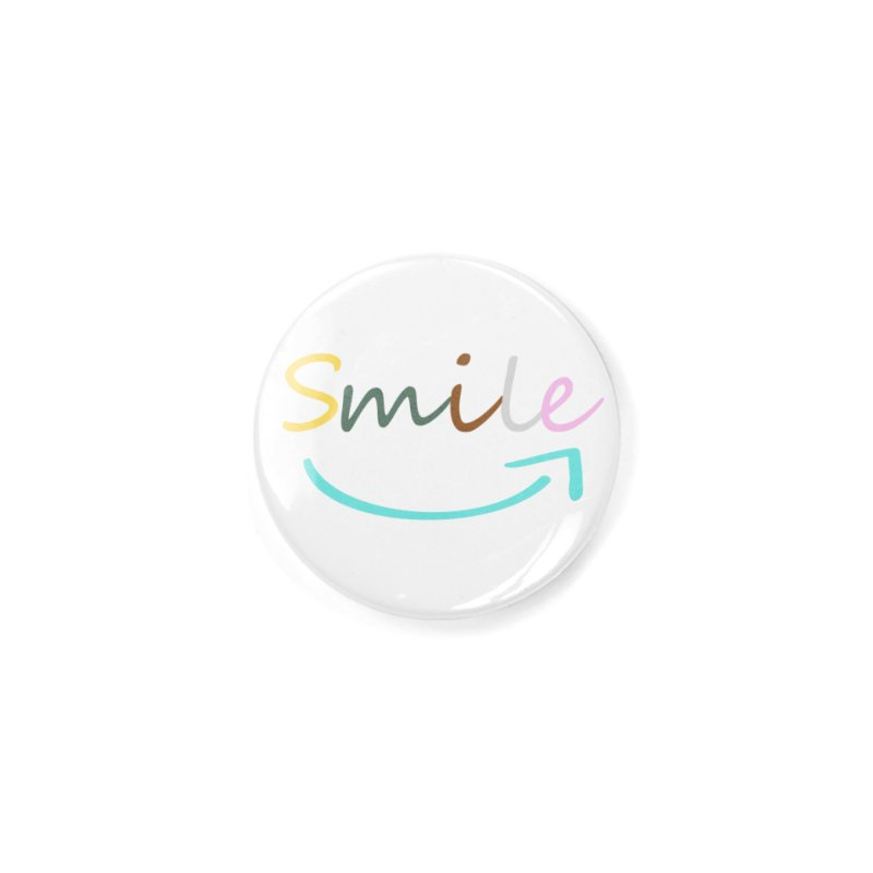 Smile Accessories Button by All Fashioned by Nature Artist Shop